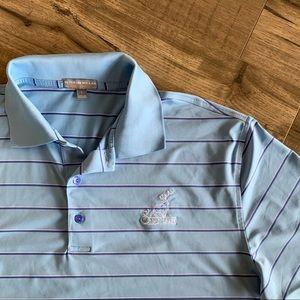Peter Millar Summer Comfort Golf Polo Shirt (L)